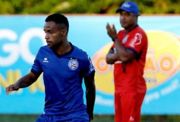 Bahia faz treino técnico no Fazendão com foco no Vasco   Felipe Oliveira   EC Bahia