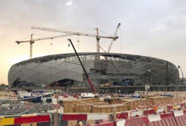Estádio da Copa de 2022 será inaugurado no Mundial de Clubes no Catar | Karim Abou Merhi l AFP