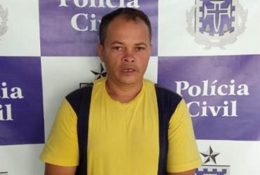 Homem é preso por abusar das filhas em Senhor do Bonfim   Divulgação   Polícia Civil