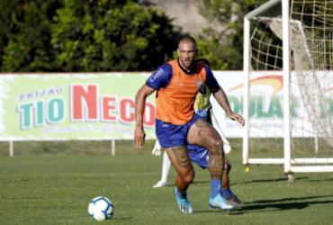 Sob comando de Roger, reservas fazem treino técnico no Fazendão | Felipe Oliveira l EC Bahia