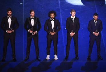 Confira imagens da premiação FIFA The Best  
