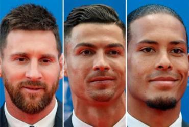Ronaldo e Messi disputam hegemonia na premiação da Fifa e Van Dijk corre por fora | Valery Hache | AFP