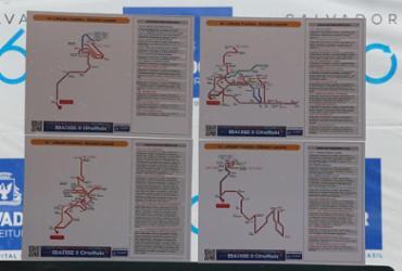 Mapas com QR Code começam a ser instalados nos pontos de ônibus de Salvador   Luciano da Matta   Ag. A TARDE