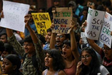 Greve Global pelo Clima deve levar milhões às ruas nesta sexta-feira | Money Sharma | AFP