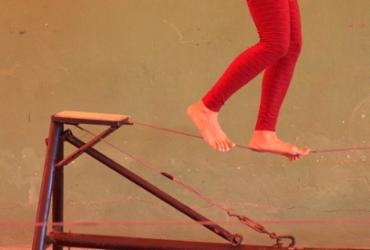 Teatro Vila Velha recebe oficina de circo em família | Luciano Carcará | Ag. A TARDE