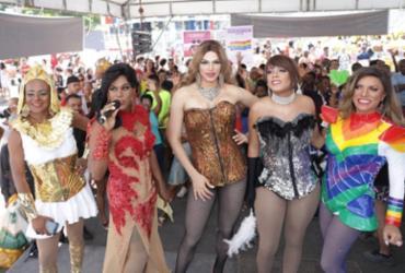 Parada LGBT+ movimenta o Dique do Tororó   Uendel Galter   Ag. A TARDE