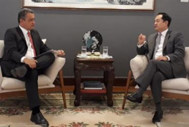 Em visita a Brasília, Rui Costa busca acelerar investimentos da China no Nordeste | Camila Peres | Gov-BA