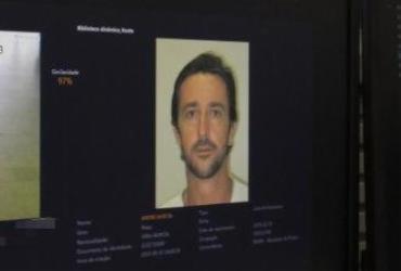 Suspeito de tráfico de drogas é detido por reconhecimento facial   Divulgação   SSP