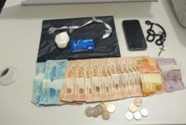 Suspeito de tráfico é detido no município de Macaúbas | Divulgação | SSP