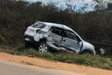 Colisão deixa três pessoas feridas em Vitória da Conquista   Reprodução   Blog do Anderson
