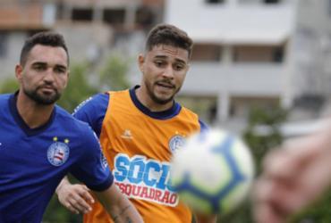 Sem Artur, Bahia está pronto para encarar o Vasco   Felipe Oliveira l EC Bahia