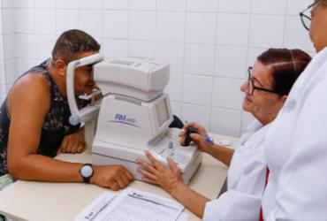 Triagem para cirurgia de catarata e retina será realizada em Lauro de Freitas
