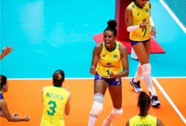 Seleção de vôlei faz 3 a 0 no Japão e sonha com o pódio no Mundial | Divulgação | FIVB