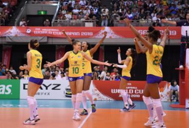 Brasil se despede da Copa do Mundo com vitória sobre a Rússia e termina em 4º | Divulgação | FIVB