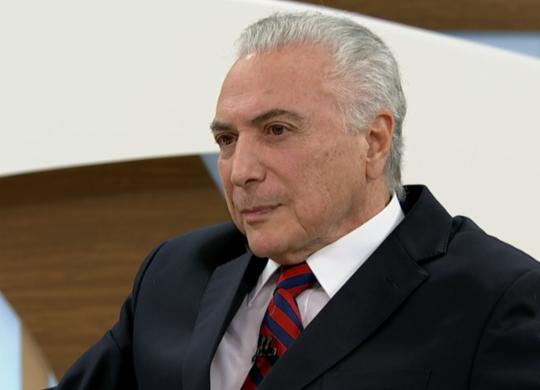 Michel Temer afirma que não apoiou 'golpe' contra Dilma Rousseff | Reprodução | TV Cultura
