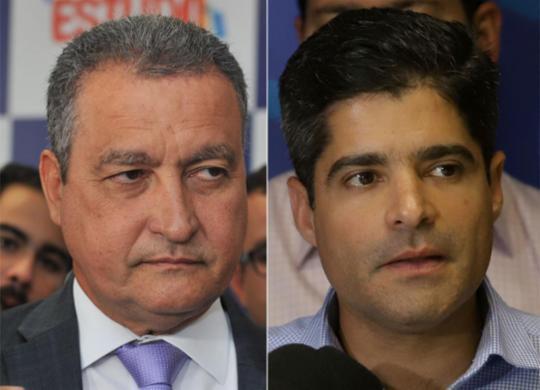 Rui rebate Neto sobre ponte, e afirma que nova rodoviária cabe à Justiça | Felipe Iruatã l Ag. A TARDE e Uendel Galter l Ag. A TARDE