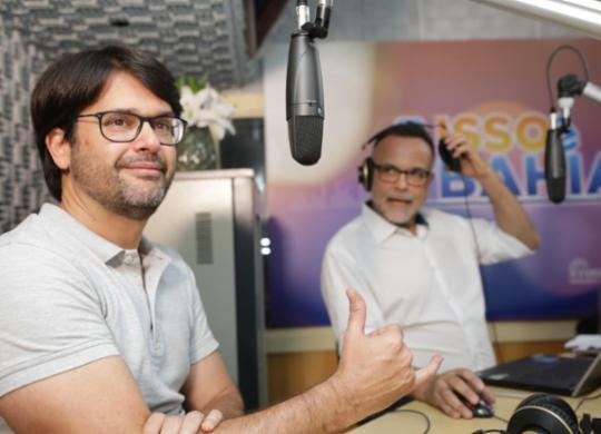 Bellintani nega desejo atual de concorrer ao cargo de prefeito, mas deixa porta aberta | Joá Souza | Ag. A TARDE