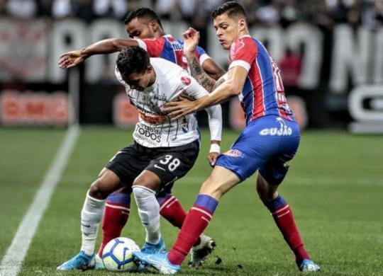 Derrota para o Corinthians derruba série invicta do Bahia | Rodrigo Coca | Agência Corinthians