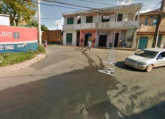 Ônibus deixam de circular no final de linha da Estrada Velha por falta de segurança | Reprodução | Google Street View
