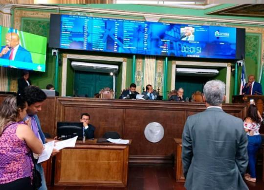 Câmara de Salvador aprova projeto que permite verbas para filantropia | Raul Aguilar | Ag. A TARDE
