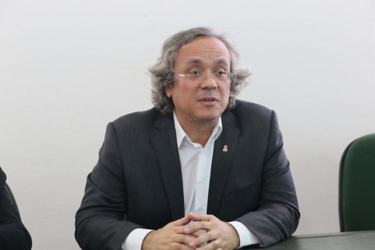João Carlos Salles, reitor da UFBA e presidente da Andifes (Foto: Margarida Neide l Ag. A TARDE l 15.10.2018