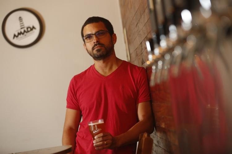 Saulo Torres, da Amada: no bar, novas receitas antes do lançamento