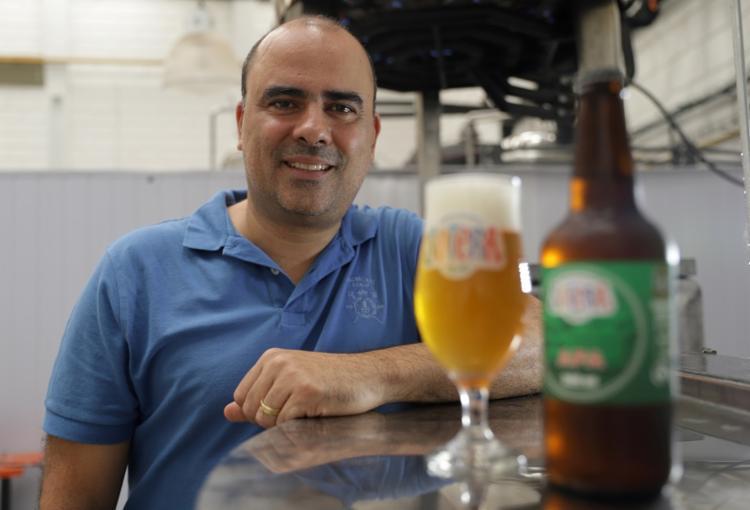 Maurício Sales, um dos sócios da Sotera: 2,5 mil litros mensais