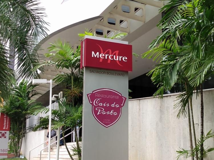 Acidente ocorreu no Hotel Mercure - Foto: Shagaly Ferreira | Ag. A TARDE