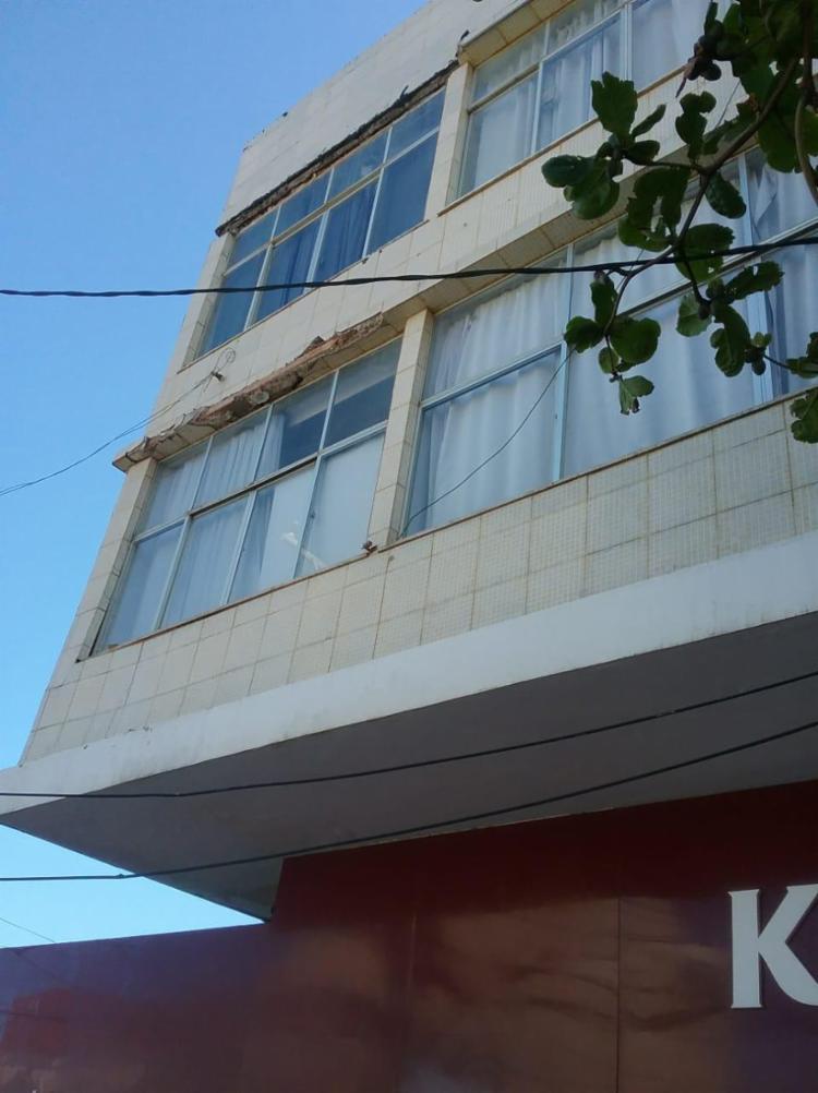O caso aconteceu em uma das laterais do edifício, na rua Minas Gerais - Foto: Divulgação   Codesal