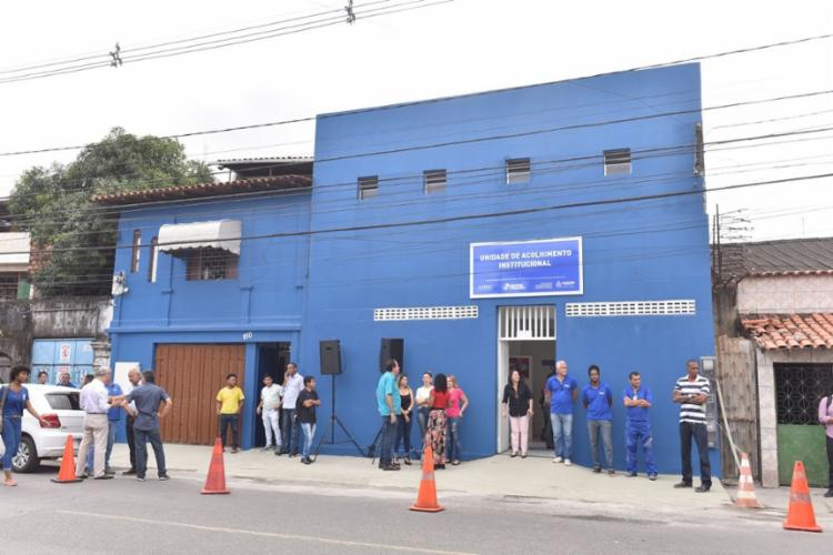 Nova sede da Unidade de Acolhimento está localizada no bairro da Ribeira