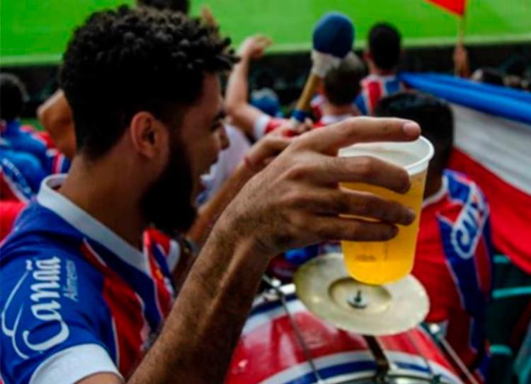 Preço da cerveja continua R$ 6 na Arena - Foto: Movimento Turma Tricolor   Divulgação