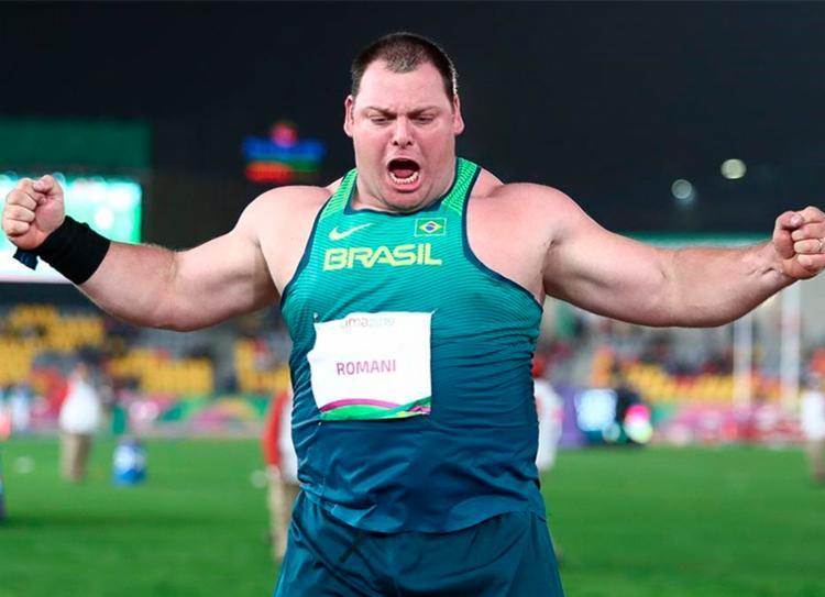 Nos Jogos Pan-Americanos em Lima, no Pertu, ele foi ouro com uma boa marca - Foto: Wagner Carmo | CBAt