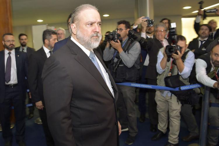 Augusto Aras é indicado para o cargo de procurador-geral da República - Foto: Marcos Brandão l Senado Federal