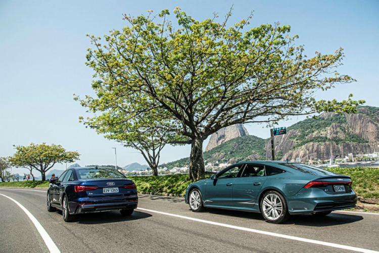 A6 e A7: Audi investindo no topo - Foto: Divulgação