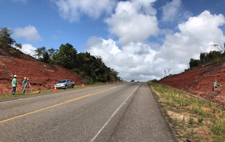 Ao todo, 14 trechos serão recuperados entre os quilômetros 115 e o 188, nas proximidades de Baixio, em Esplanada, até a região do município de Jandaíra. - Foto: Divulgação
