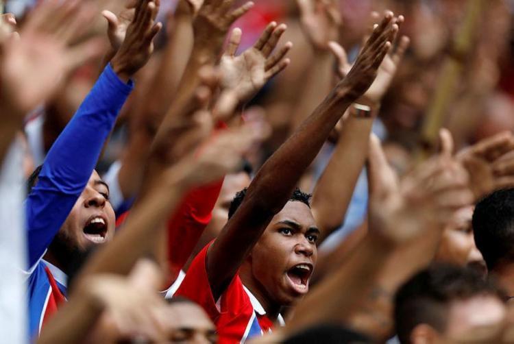 Clube investe em ações inclusivas, como campanhas contra o racismo, o machismo e a homofobia - Foto: Raul Spinassé/Ag. A TARDE