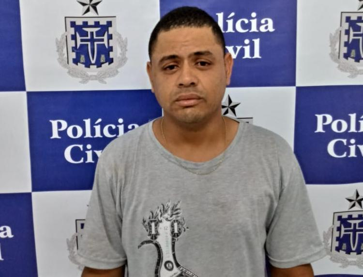 Suspeito está custodiado na Deam de Paulo Afonso - Foto: Divulgação   Polícia Civil