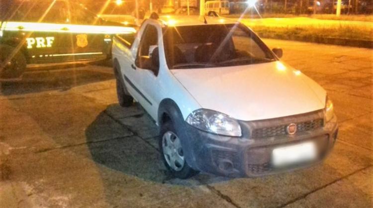 A abordagem ocorreu durante uma operação de combate ao crime e fiscalização de trânsito - Foto: Divulgação | PRF-BA