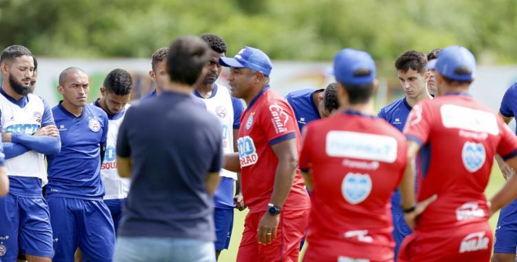 O Tricolor do técnico Roger Machado quer manter vivo o sonho de ir à Libertadores - Foto: Felipe Oliveira | EC Bahia