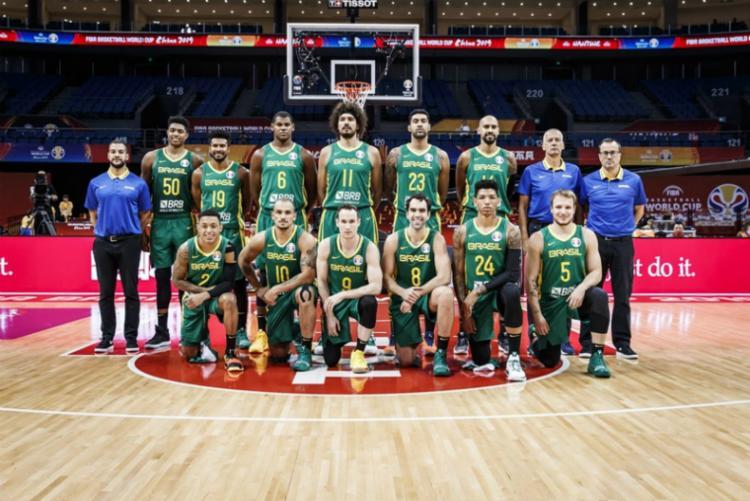 Time se classificou para a segunda fase do Mundial sonhando com a vaga nos Jogos Olímpicos em 2020 - Foto: Divulgação | FIBA