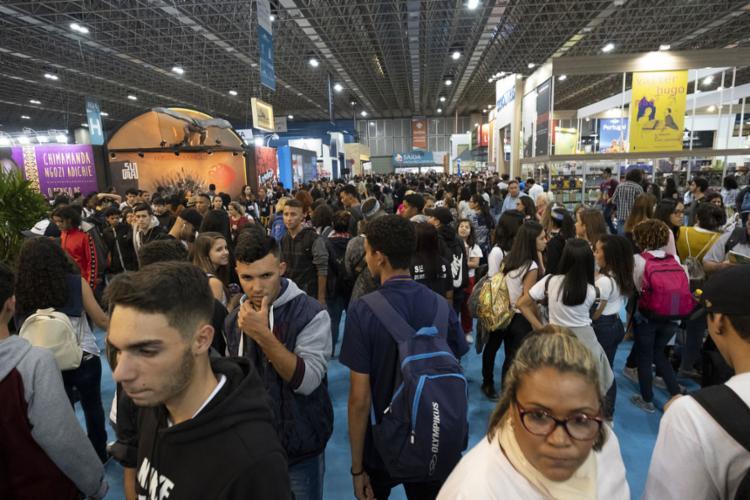 A mostra reuniu, entre os dias 30 de agosto e 8 de setembro, 600 mil pessoas no Riocentro - Foto: Marcio Mercante l AFP