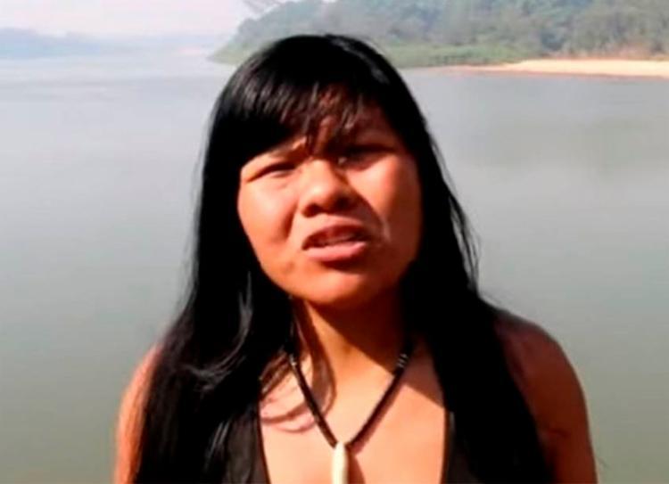 Indígena Ysani Kalapalo viajou com Jair Bolsonaro para Nova York - Foto: Reprodução