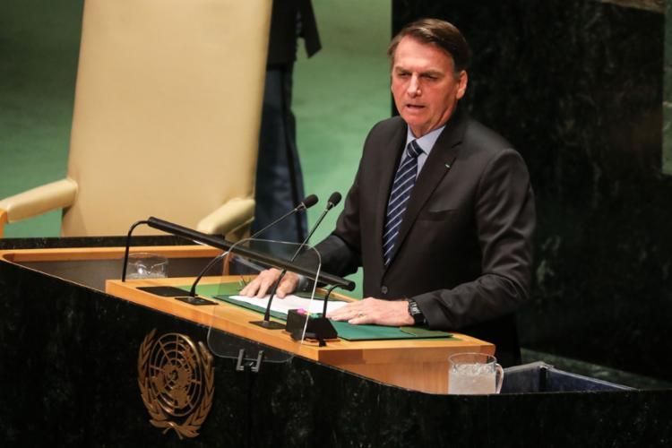 Em sua estreia na ONU, o presidente fez um discurso desafiador e reiterou conceitos do