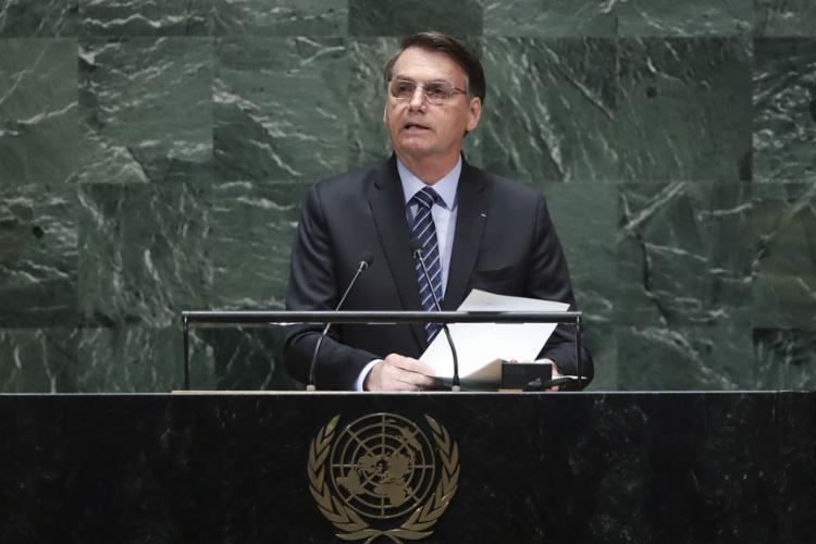 Amazônia e segurança pública foram temas citados pelo presidente - Foto: Drew Angerer