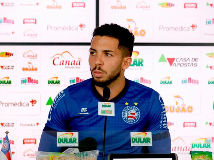 Volante diz que o grupo precisa rever os erros e acertos no 1º turno para melhorar - Foto: Felipe Oliveira | EC Bahia
