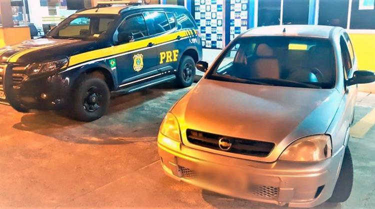 Veículo foi roubado em junho de 2007 - Foto: Divulgação   PRF