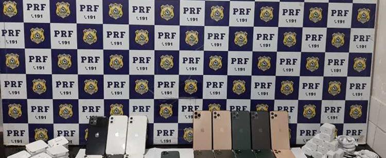 Cada aparelho do modelo Iphone 11 é avaliado em R$ 9 mil reais - Foto: Divulgação