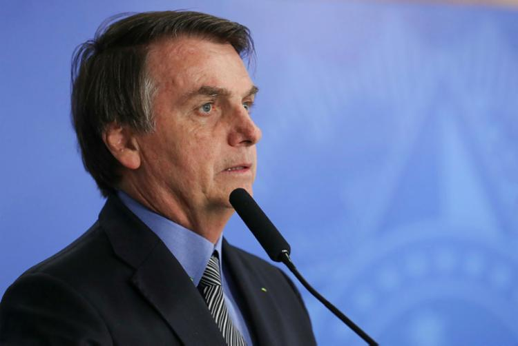 Desde janeiro, a aprovação do governo vem caindo na série do Ibope - Foto: Marcos Corrêa / PR