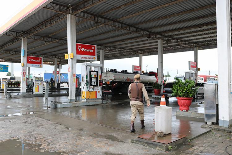 Bicos 06, 08, 16 e 26 foram interditados e ANP emitiu autos de infração pelos tanques 08 e 09 - Foto: Divulgação | Sefaz