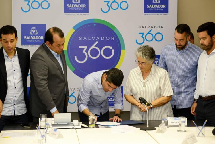 Convênio tem o objetivo de ampliar a rede assistencial de saúde em Salvador - Foto: Valter Pontes | Secom